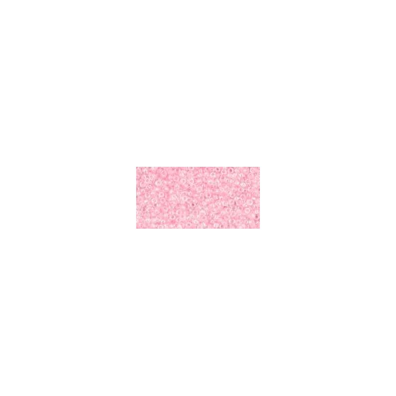 TR-15-171D Transparent-Rainbow Ballerina Pink TOHO Seed Beads