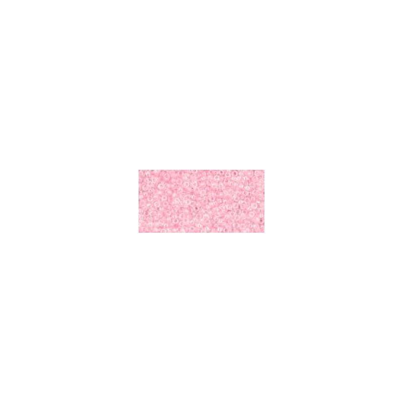 TR-15-171D Transparent-Rainbow Ballerina Pink ТОХО Бисер