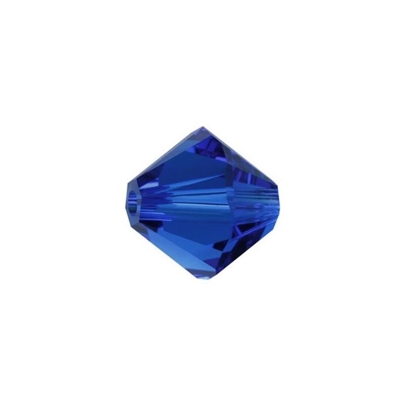 6MM Capri Blue 5328 XILION Bi-Cone SWAROVSKI ELEMENTS