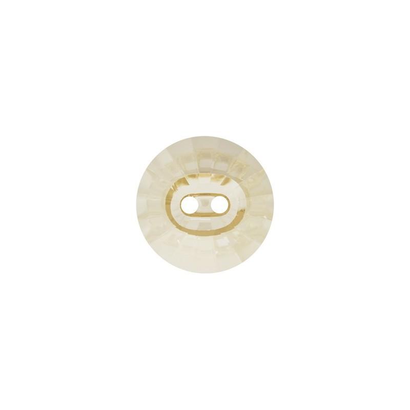 12MM Crystal Golden Shadow (001 GSHA) Rivoli 3019 Nööb SWAROVSKI ELEMENTS