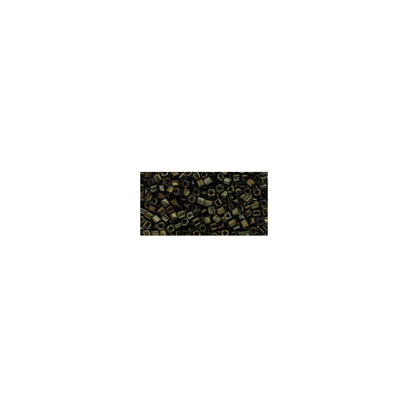 TC-01-83 Metallic Iris Brown 1.5mm TOHO cube beads