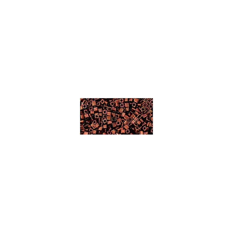 TC-01-222 Bronze Dark Bronze 1.5mm TOHO cube beads