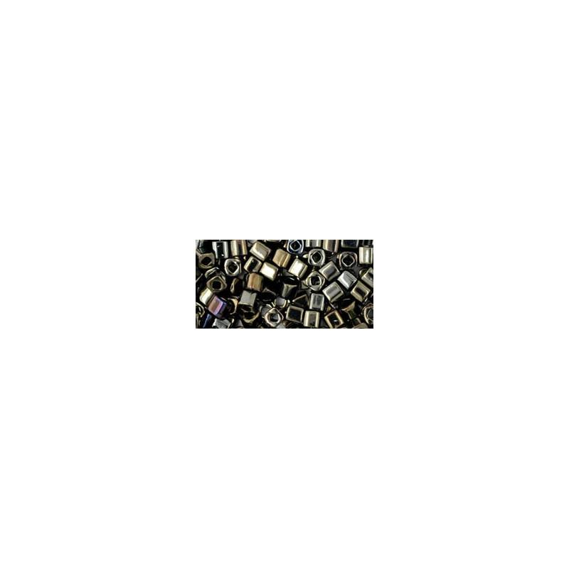 TC-03-83 Metallic Iris Brown 3mm TOHO cube beads