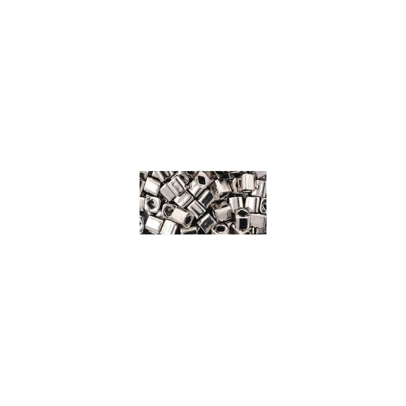 TC-04-711 Nickel 4mm TOHO cube beads