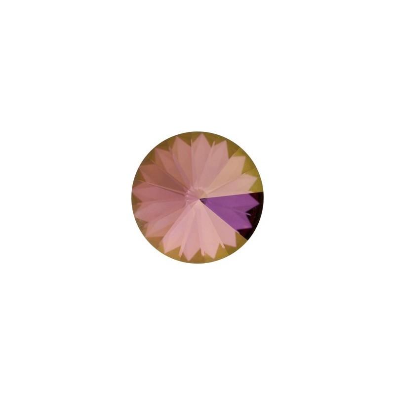 12MM Crystal Lilac Shadow F (001 LISH) 1122 Rivoli Chaton SWAROVSKI ELEMENTS