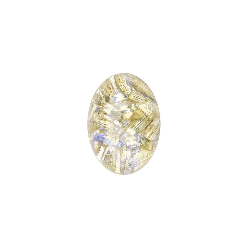 25x18mm Opaal Jonquil 02990 with Foiling 416-12-564 Cabochons Preciosa