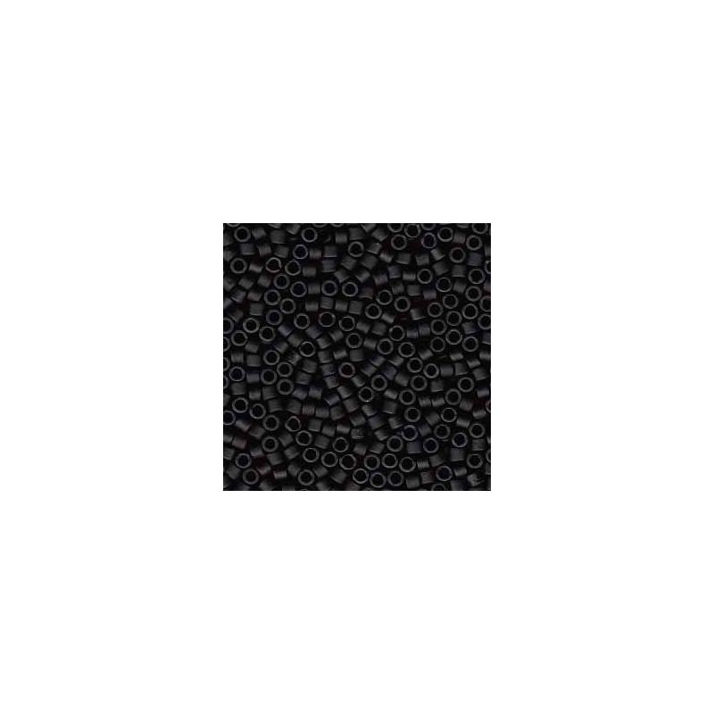 DB-310 Matte Opaque Black Miyuki DELICA 11/0 seed beads