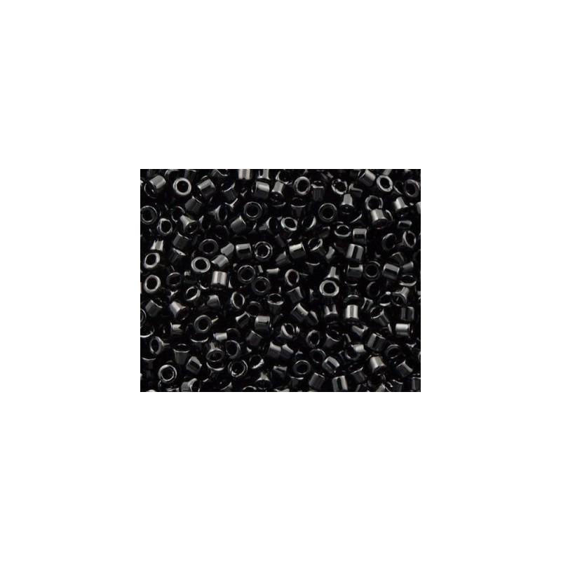 DBM-10 Opaque Glossy Black Miyuki DELICA 10/0 seed beads