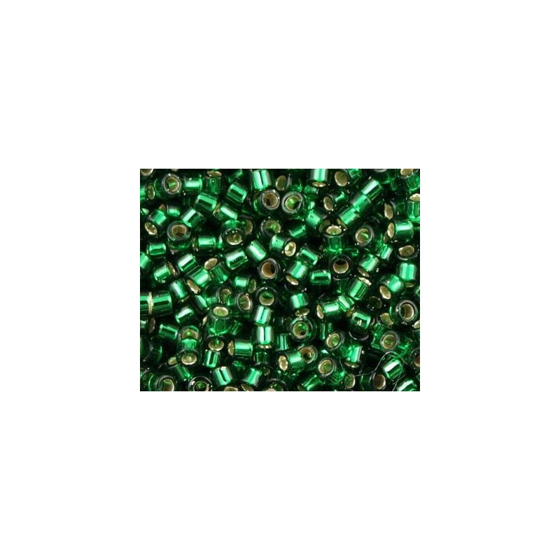 DBM-148 Silver Lined Dark Green Miyuki DELICA 10/0 seed beads