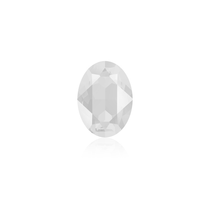 18x13mm Crystal Powder Grey (001 PGRY) Oval Ehete Kristall 4120 Swarovski Elements