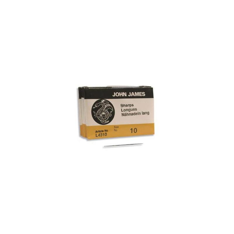 Stringing Nõel 51mm Size10 L4320E John James