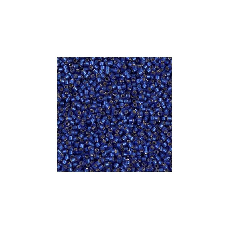 DB-693 Semi-Matte Silver-Lined Midnight Blue Miyuki DELICA 11/0 seed beads