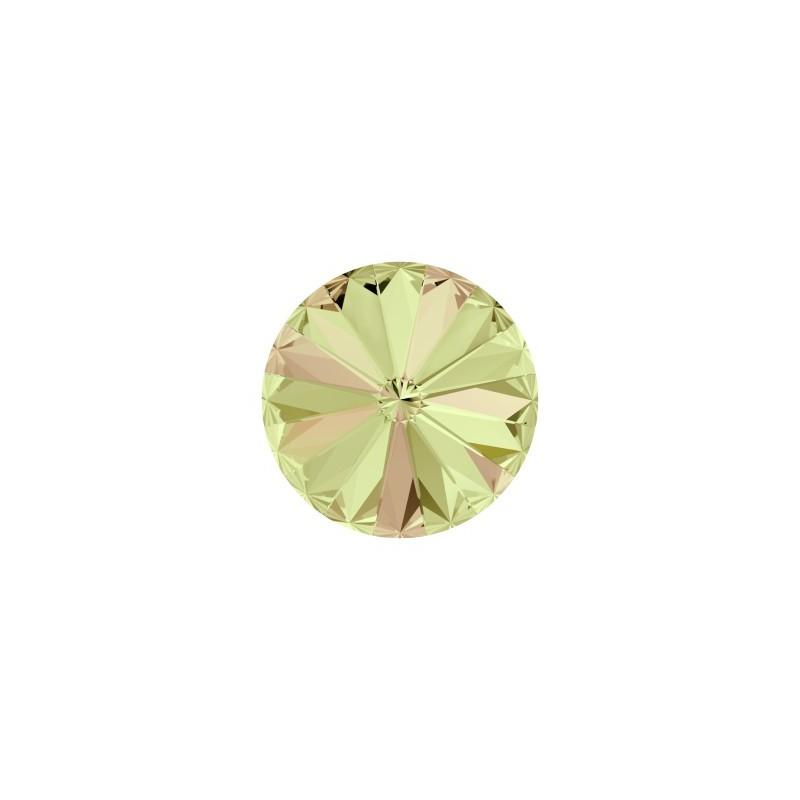 14MM Crystal Scarabaeus Green F (001 SCGR) 1122 Rivoli SWAROVSKI ELEMENTS