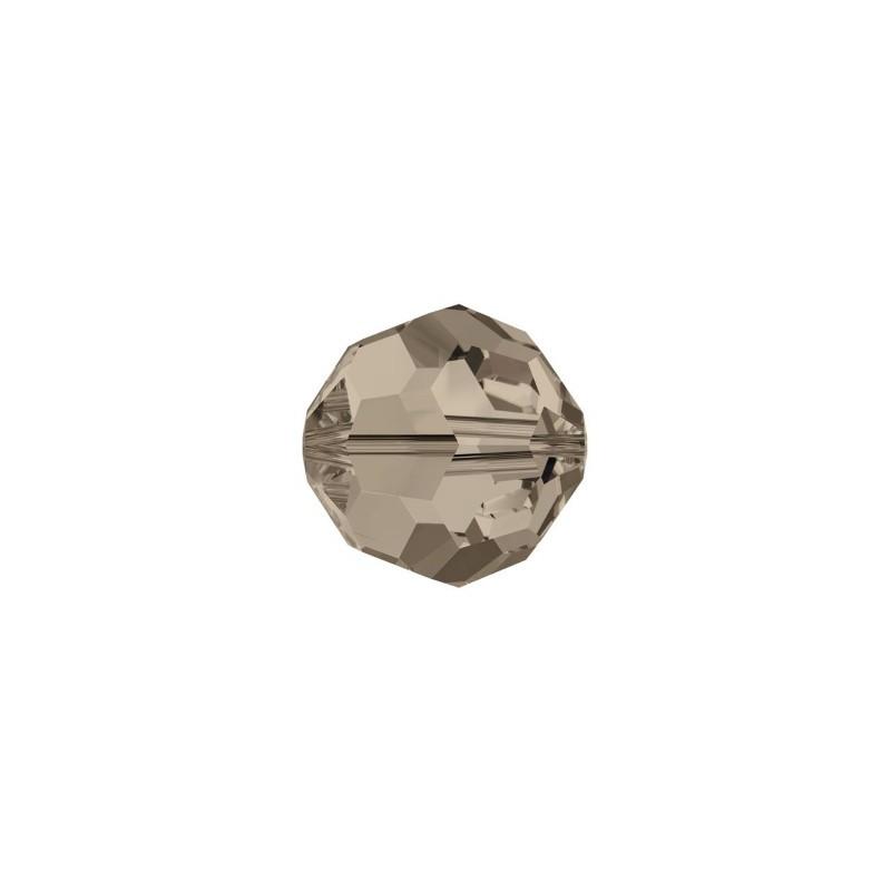 8MM Light Smoked Topaz (221) 5000 ümmargused helmed SWAROVSKI ELEMENTS
