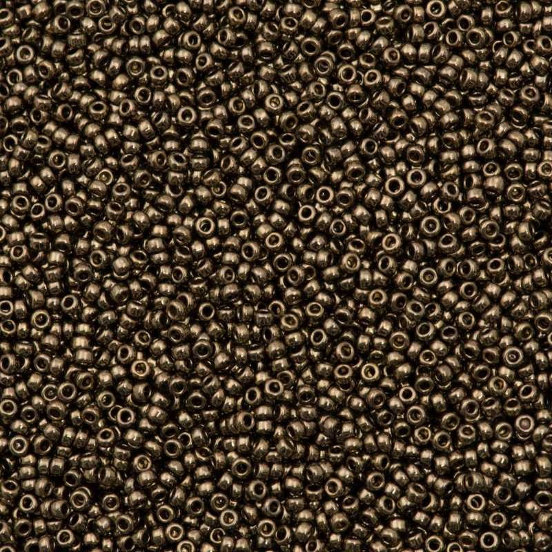 RR-15-457 Dark Bronze Metallic Miyuki Ümmargused Rocailles 15/0