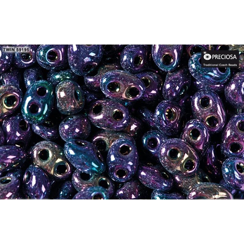 Twin-2RH-59195 Purple Iris PRECIOSA-ORNELA SeemneHelmed