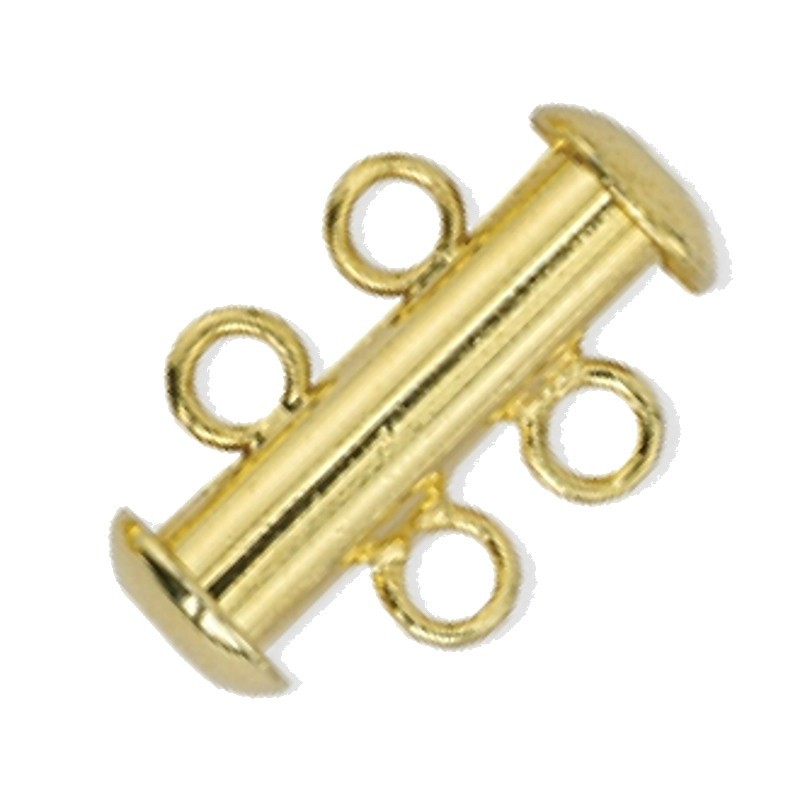 slider Kuld toon 2 rida umbes 11x17mm
