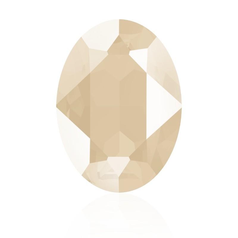 18x13mm Crystal Ivory Cream (001 L106S) Oval Ehete Kristall 4120 Swarovski Elements