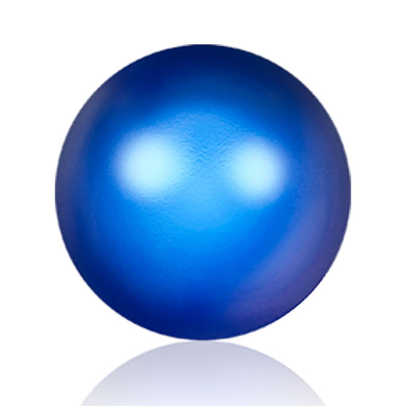 6MM Iridescent Dark Blue Kristall Ümmargune Pärl (001 949) 5810 SWAROVSKI ELEMENTS