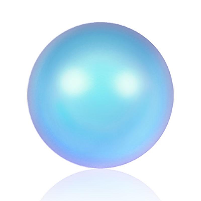 6MM Iridescent Light Blue Kristall Ümmargune Pärl (001 948) 5810 SWAROVSKI ELEMENTS