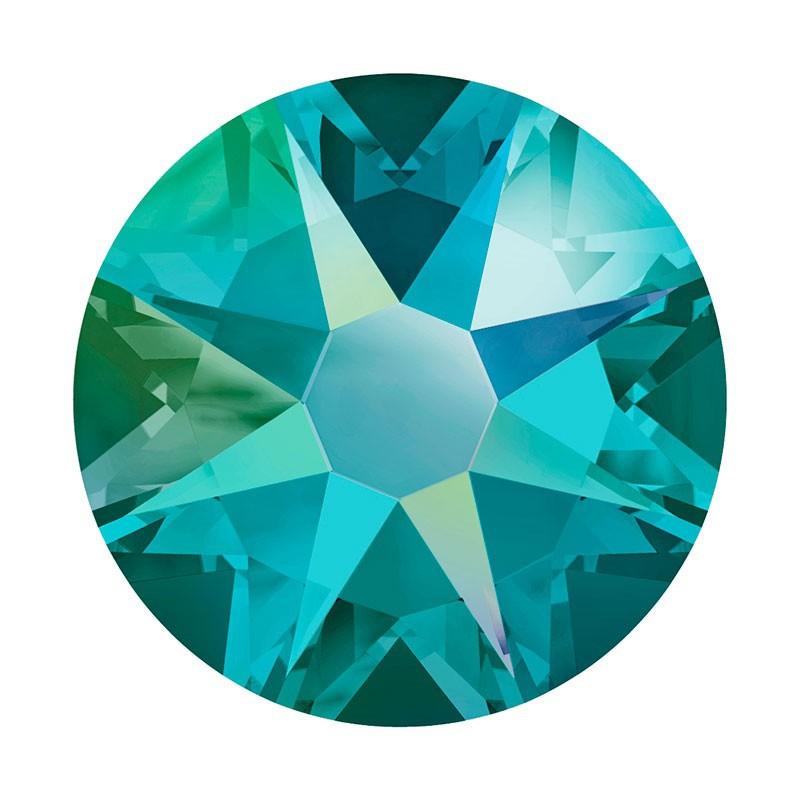 2088 SS20 Blue Zircon Shimmer F (229 SHIM) XIRIUS Rose SWAROVSKI ELEMENTS