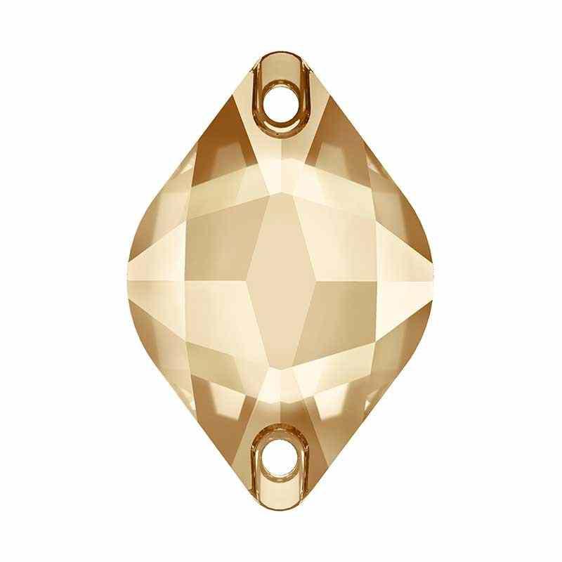 14X9MM Crystal Golden Shadow F (001 GSHA) 3211 Sidrun SWAROVSKI
