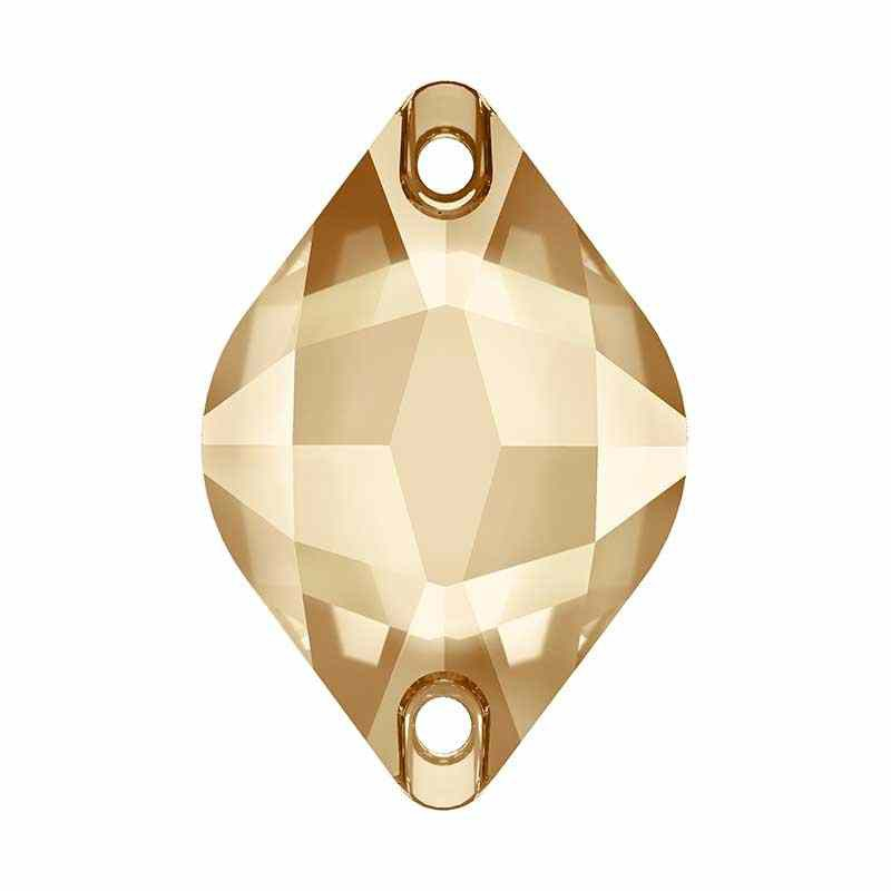 18X12MM Crystal Golden Shadow F (001 GSHA) 3211 Лимон SWAROVSKI