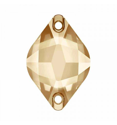 18X12MM Crystal Golden Shadow F (001 GSHA) 3211 Sidrun SWAROVSKI