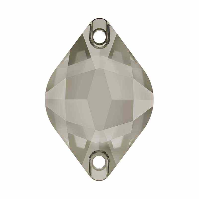 18X12MM Crystal Satin F (001 SATIN) 3211 Sidrun SWAROVSKI