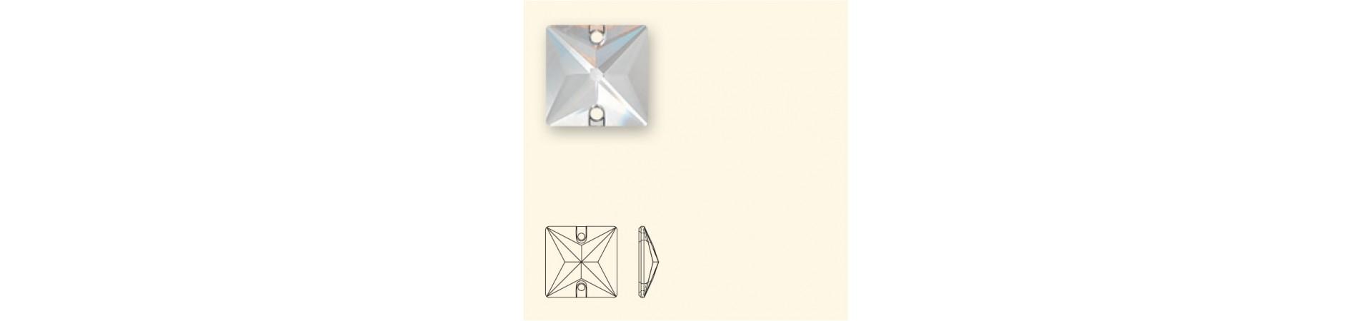 3240 Square (Ruut) Õmmeldav Kristall