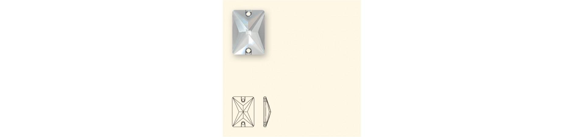 3250 Rectangle (Ristkülik) Õmmeldav Kristall