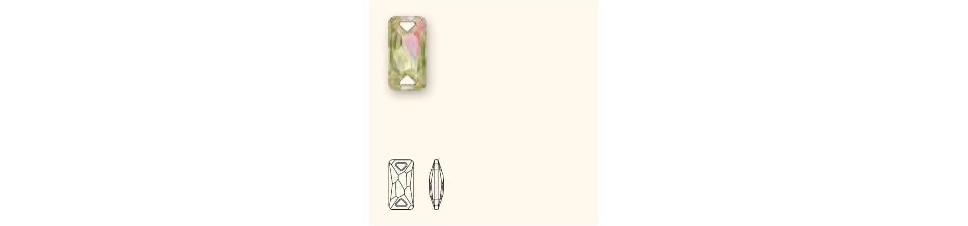 3251 Space Cut Õmmeldav Kristall