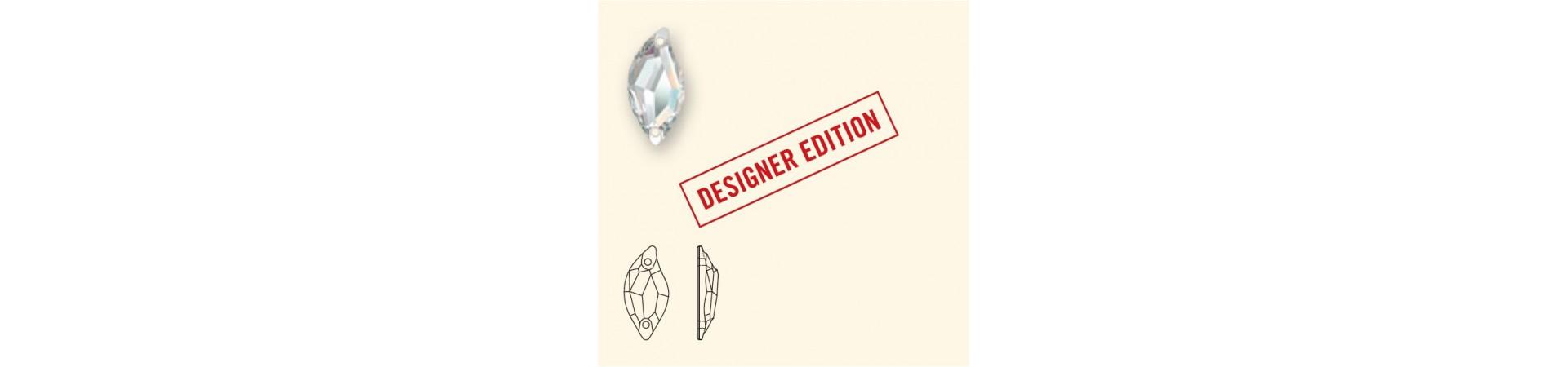 3254 Diamond Leaf (Teemant leheke) Õmmeldav Kristall