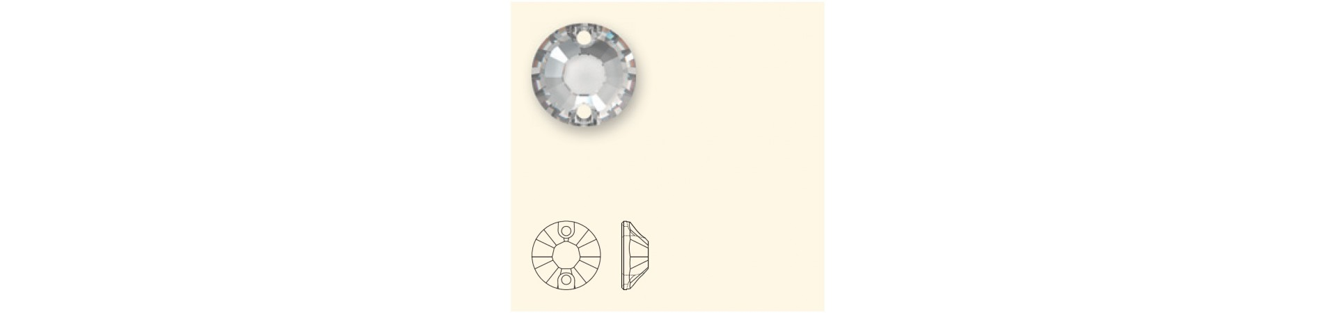 3204 XILION Õmmeldavad Kristallid