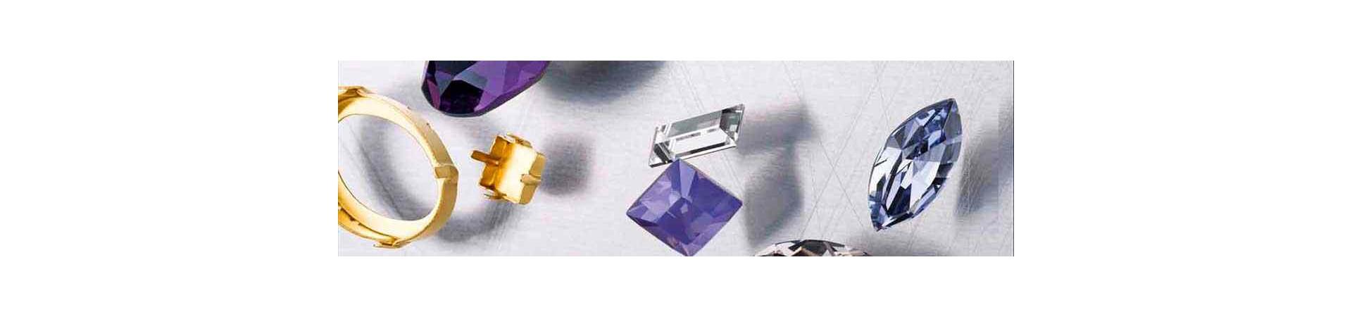 Kinnitused Ehete Kristallidele (Fancy Stones Settings)