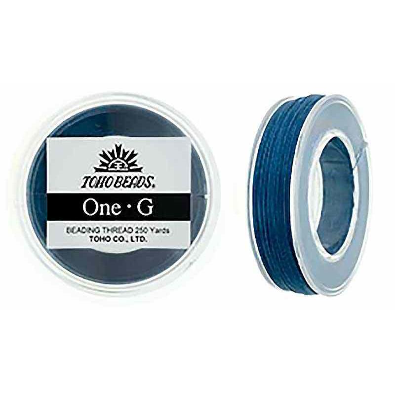 Sinine TOHO One-G Niit Tikkimiseks 228.6m (250yd) pikk
