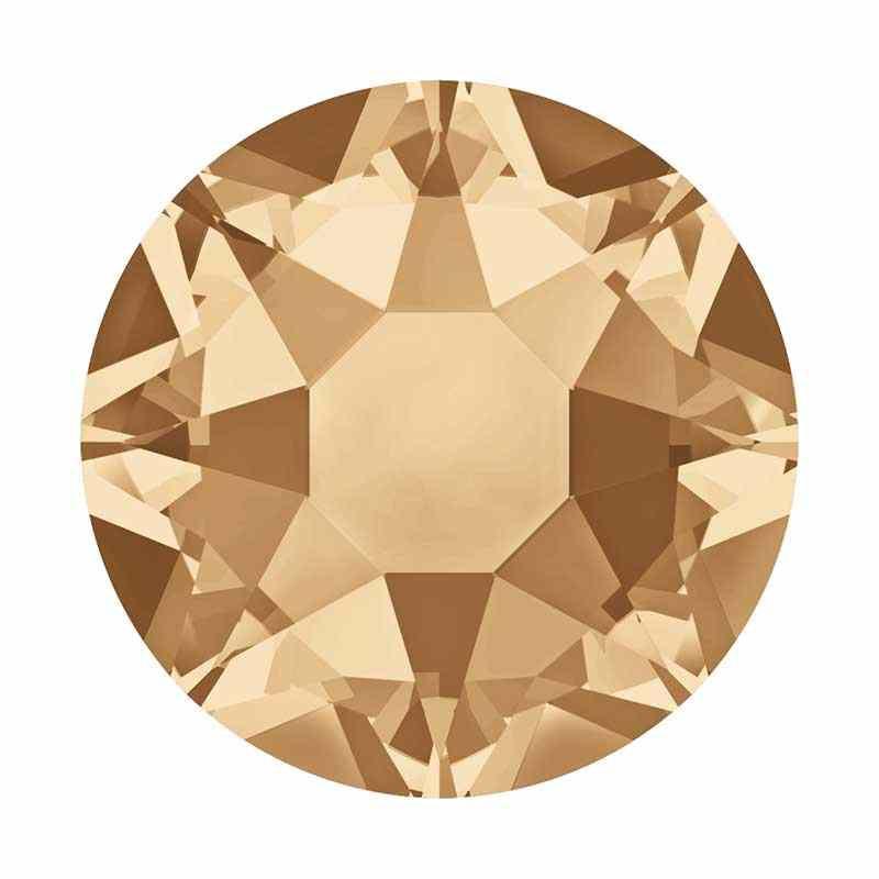2038 SS 10 Crystal Golden Shadow (001 GSHA) HF SWAROVSKI ELEMENTS