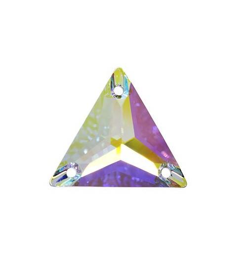 16MM CRYSTAL AB F (001 AB) 3270 Triangle SWAROVSKI ELEMENTS