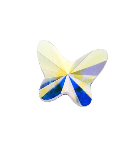 8MM Crystal AB F (001 AB) 2854 Butterfly SWAROVSKI ELEMENTS
