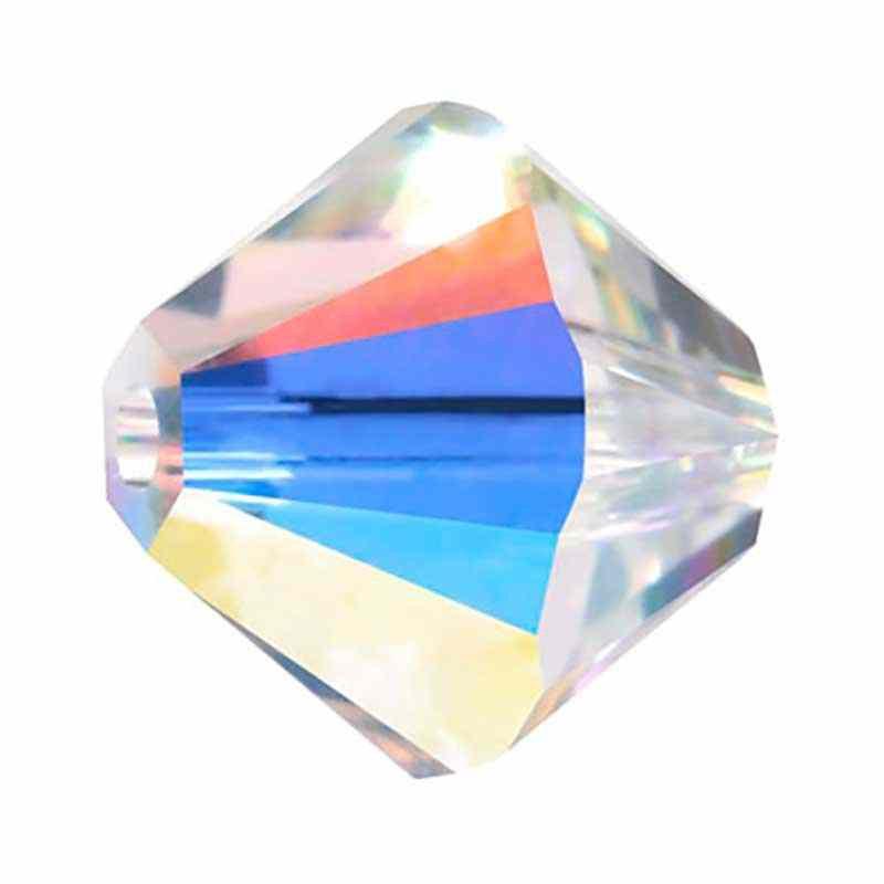 3MM Crystal AB (001 AB) 5328 XILION Bi-Cone Бусины SWAROVSKI