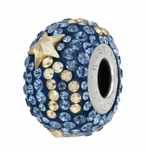 15mm Montana (207) 81922 Shooting Star BeCharmed Pavé Bead Swarovski