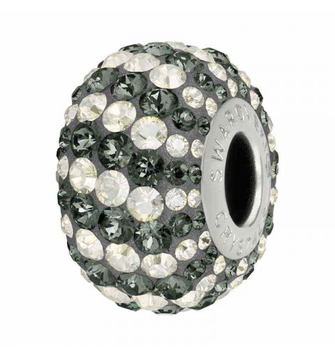 14mm Crystal Silver Night (001 SINI) 82152 Candy BeCharmed Pavé Helmed Swarovski