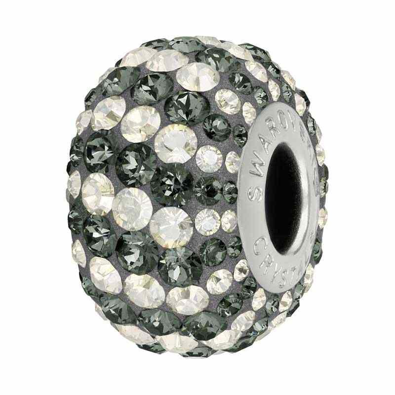 a7340a19c Crystal Silver Night SINI 82152 Candy BeCharmed Pavé Bead Swarovski