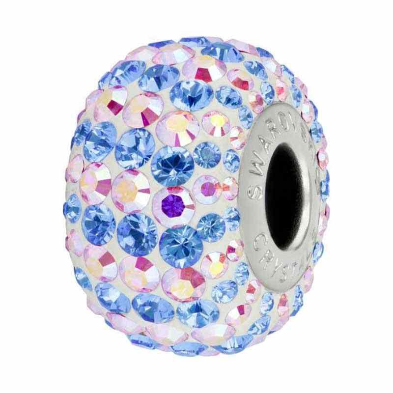 14mm Crystal AB (001 AB) 82152 Candy BeCharmed Pavé Helmed Swarovski