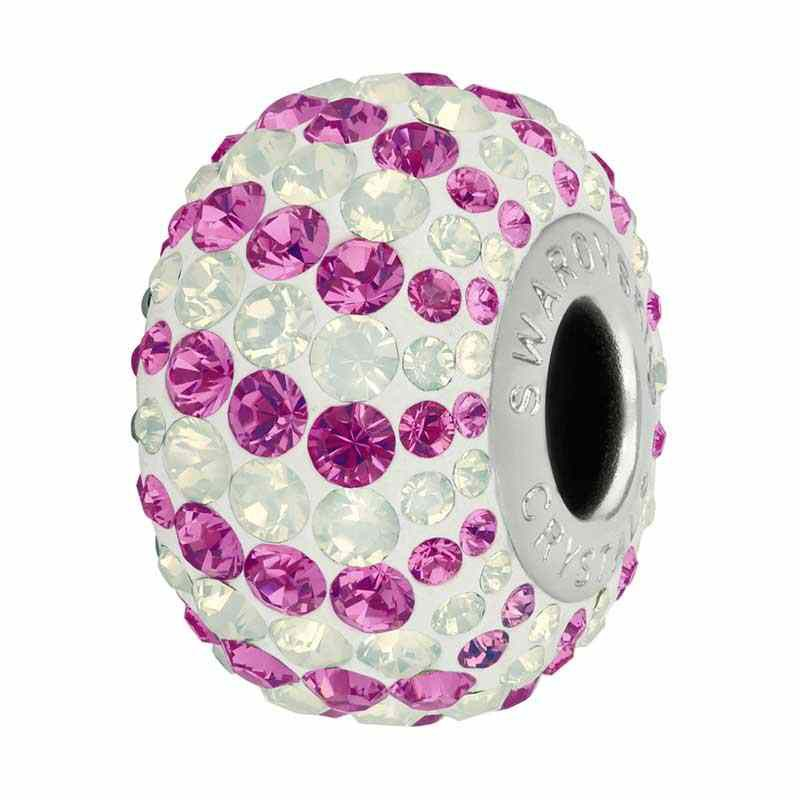 14mm Rose (209) 82152 Candy BeCharmed Pavé Bead Swarovski