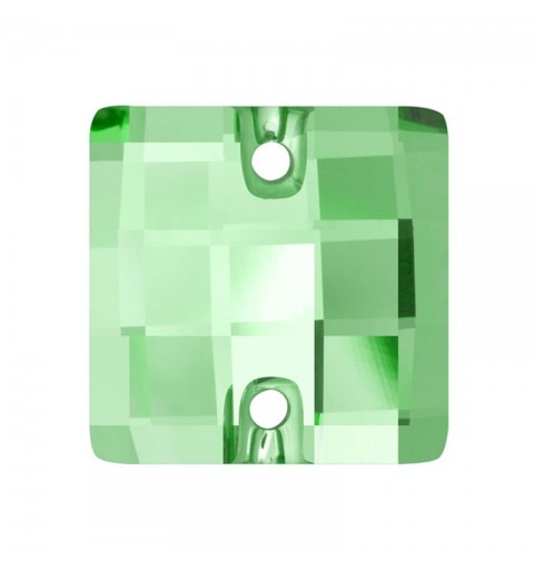 12MM Peridot F (214) 3293 Chessboard SWAROVSKI ELEMENTS