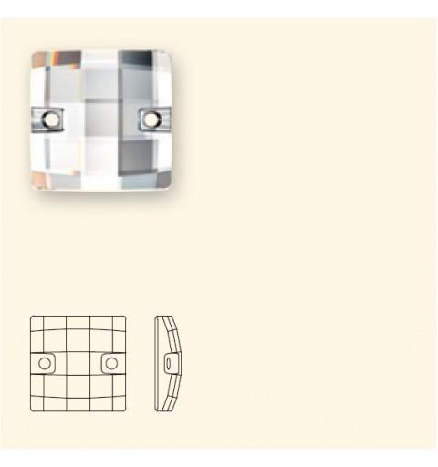 12MM Peridot F (214) 3293 Chessboard SWAROVSKI ELEMENTS