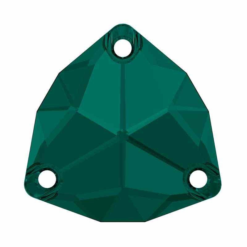 16MM Emerald F (205) 3272 Trilliant SWAROVSKI Crystal