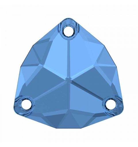 16MM Sapphire F (206) 3272 Trilliant SWAROVSKI Crystal