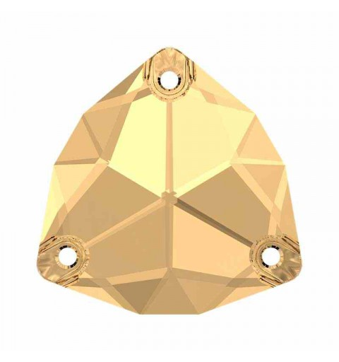 20MM Cr. Golden Shadow F (001 GSHA) 3272 Trilliant SWAROVSKI